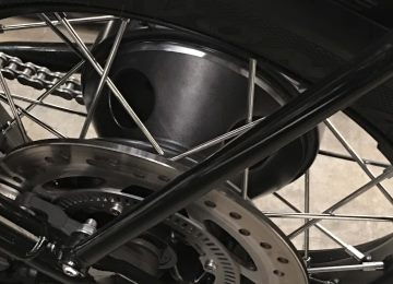 Classic Rear 'Drum Brake' Inspired Hub