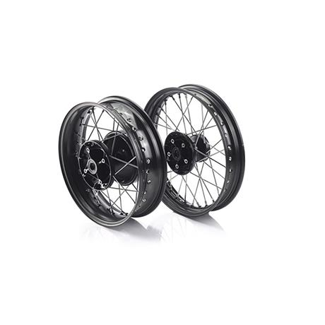 Spoke Wheel Kit, Black