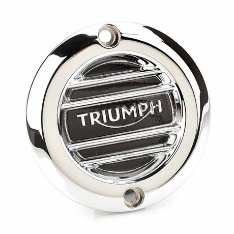 Ribbed Chrome Clutch Cover