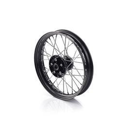 Front Wheel Kit, Black, 16""