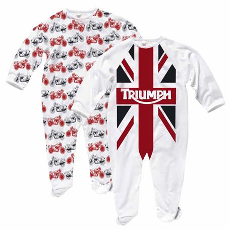 GB Flag Sleep Suit Set