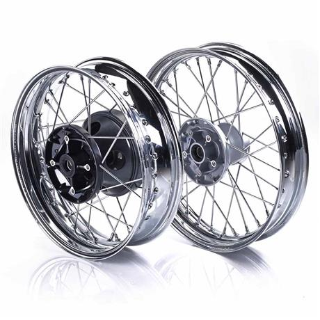 Chrome Spoked Wheel Kit