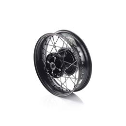 Rear Wheel Kit, Black, 16 x 3.5