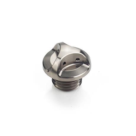 Oil Filler Cap - Grey