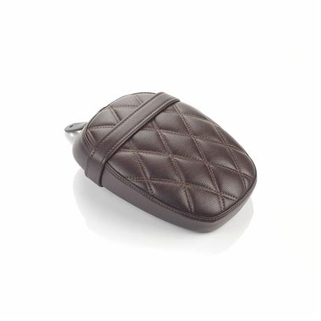 Brown Quilted Pillion Seat