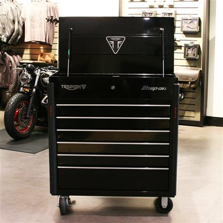 Triumph Special Edition Snap On Toolbox