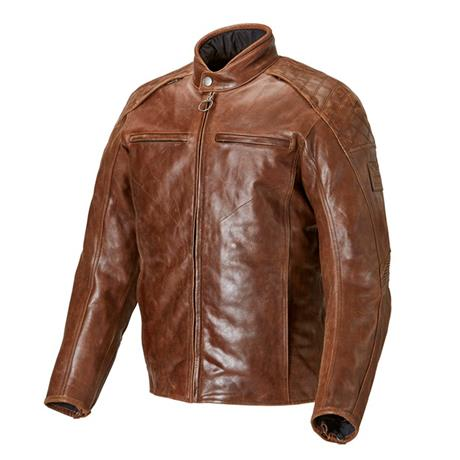 Leather Barbour Jacket