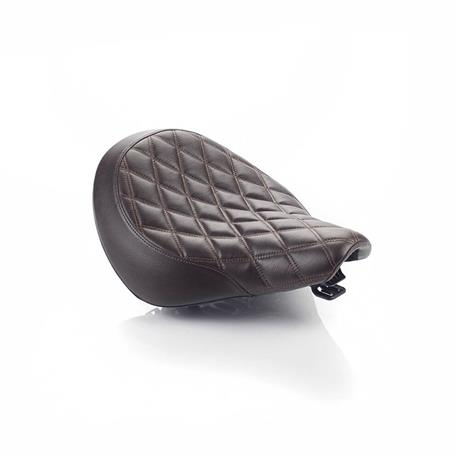 Brown Quilted Rider Seat