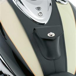 Leather Fuel Tank Panel