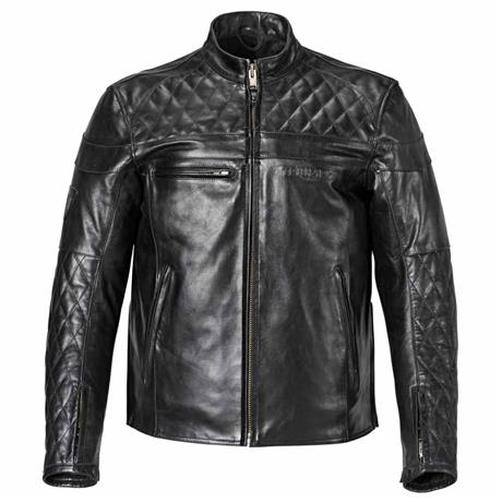 Custom Quilted Leather Jacket