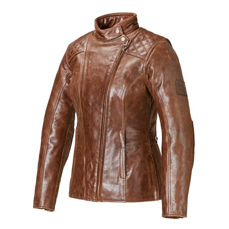 Leather Barbour Ladies Jacket