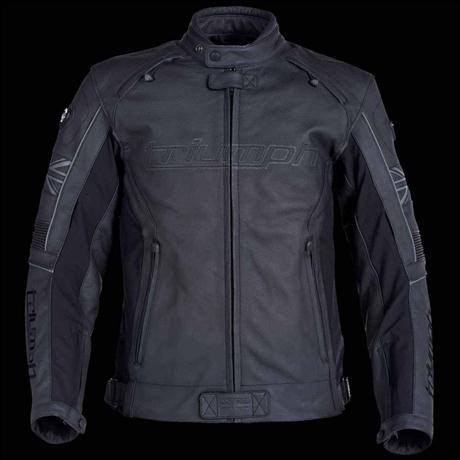 Quick Review Of The Triumph Mugello Leather Jacket Triumph Forum