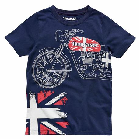 Motorcycle t shirts kids sizes triumph motorcycles